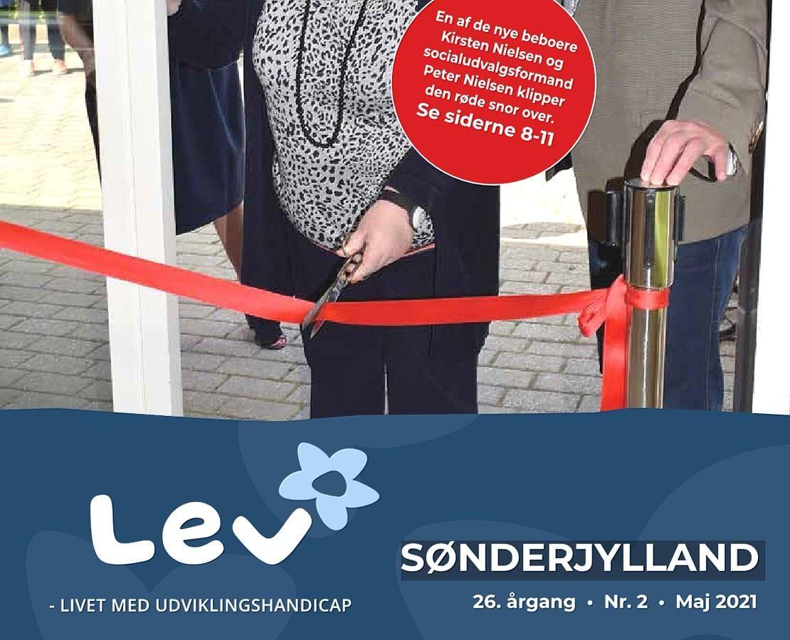Forside bladet Lev Sønderjylland 2 2021